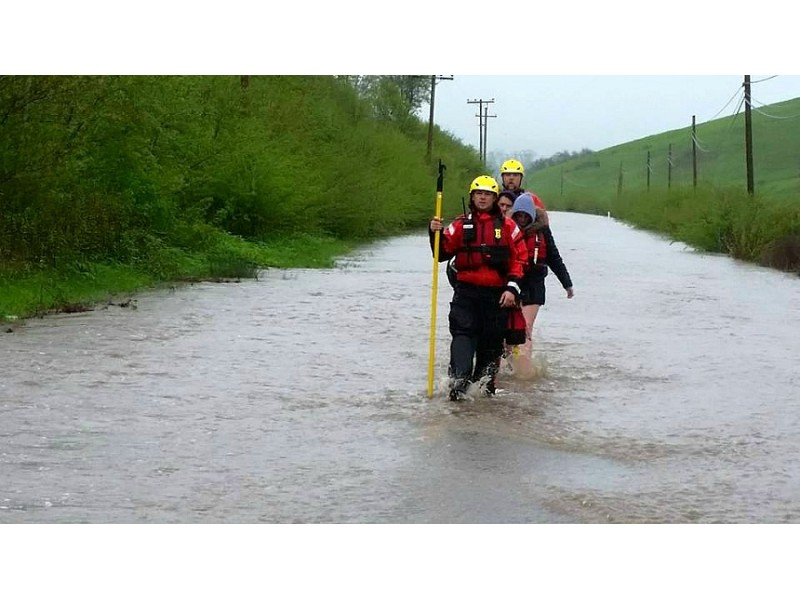 Updated: Flash Flood Watch In Effect For North Bay Counties | Napa ...