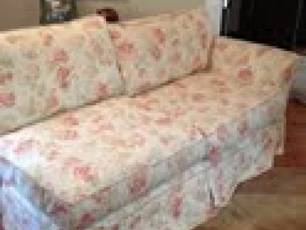 french country sectional couch by platypus - can be divided into loveseat  couch too