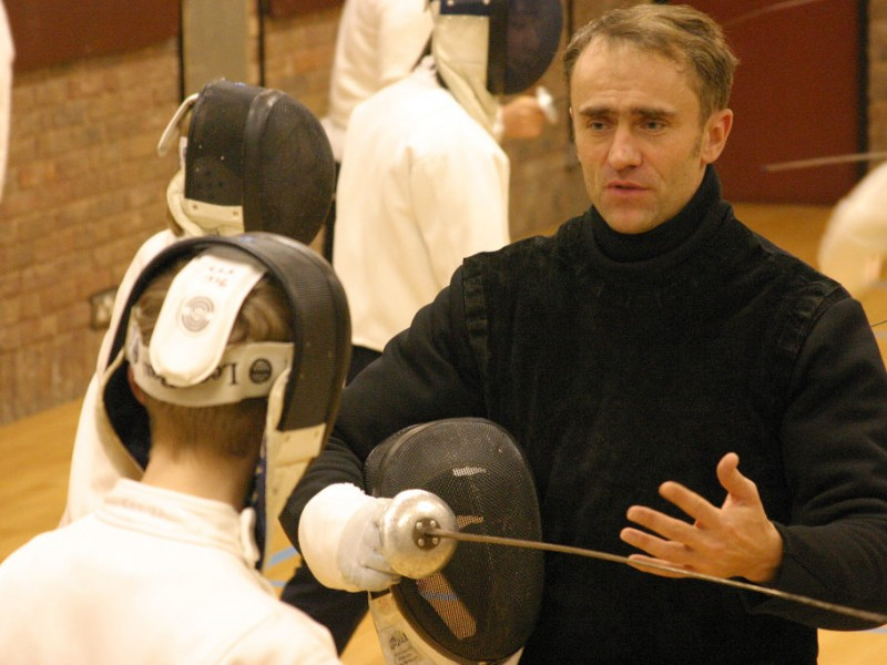 Former Olympian Teaching Fencing Classes At Cultural