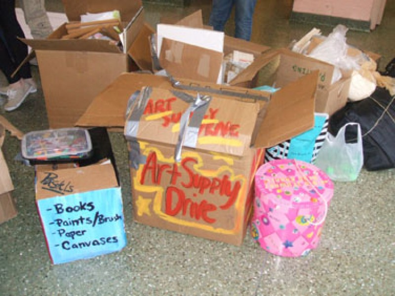 Donate art and music supplies to the rye arts center for Where to donate craft supplies