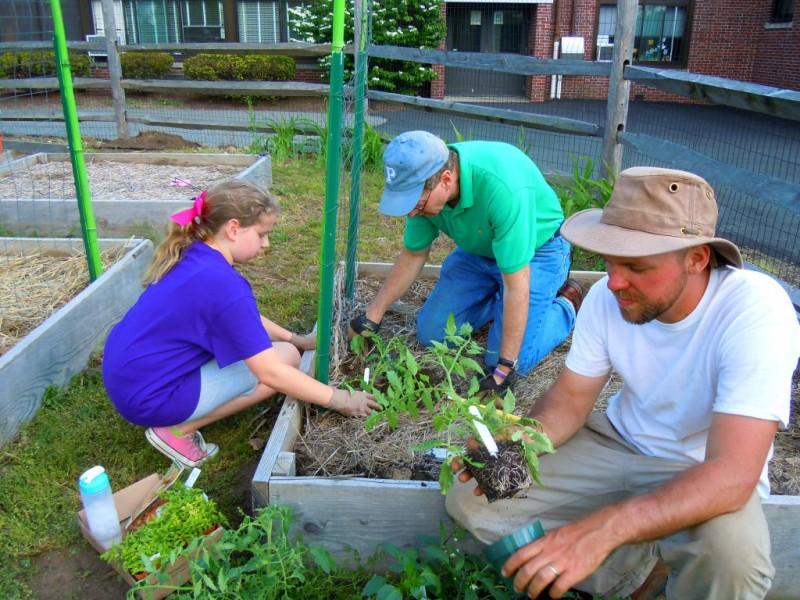 Local Scout Plants Pizza Gardens at Urban Farm | Morristown, NJ Patch