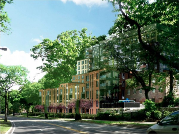 Apartment Building Association jamaica pond association rejects 10-story apartment building for