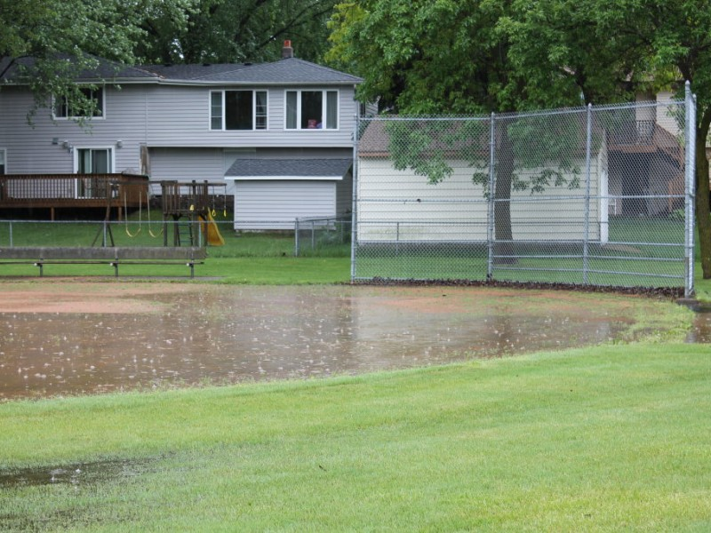 Viewfinder: Field Flooded at Donahue South Park | Maple Grove, MN Patch