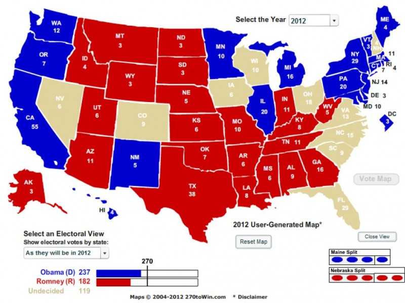 BrookhavenBased To Win Predicts The Election Brookhaven GA - 2008results us elections map