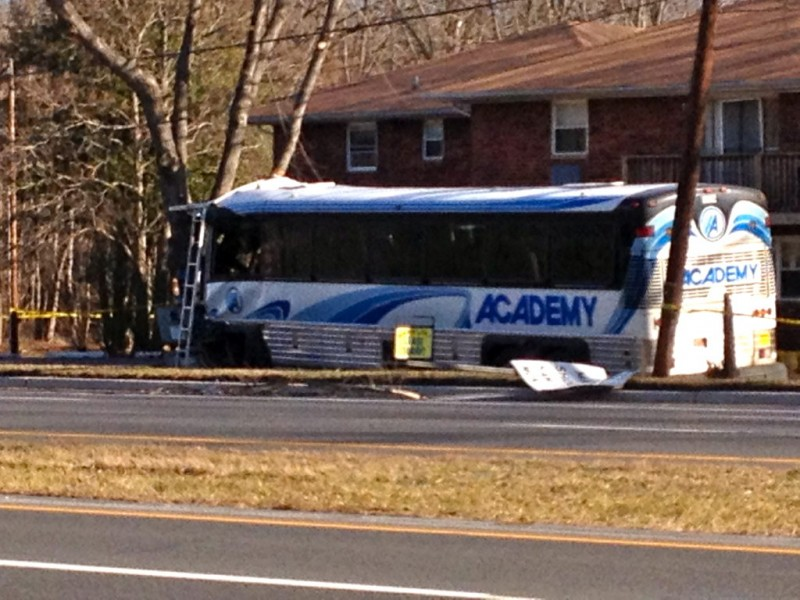 old bridge police cause of route 9 bus accident remains under investigation matawan nj patch. Black Bedroom Furniture Sets. Home Design Ideas