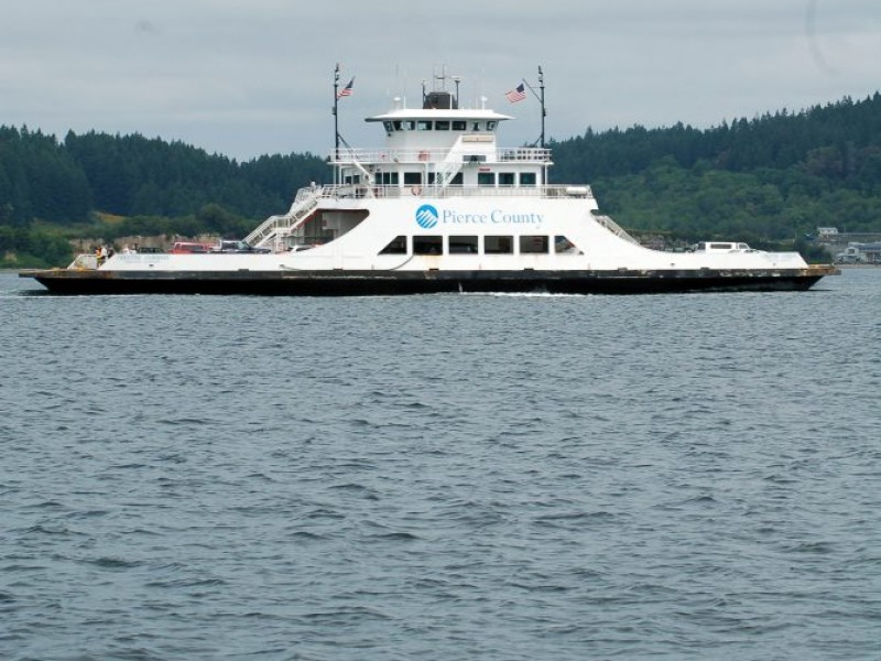 Low Tide Will Affect Pierce County Ferry Service Labor Day Weekend
