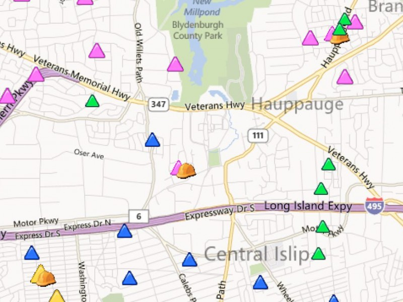Update Power Outages Jump To 4 692 In Hauppauge Hauppauge Ny Patch