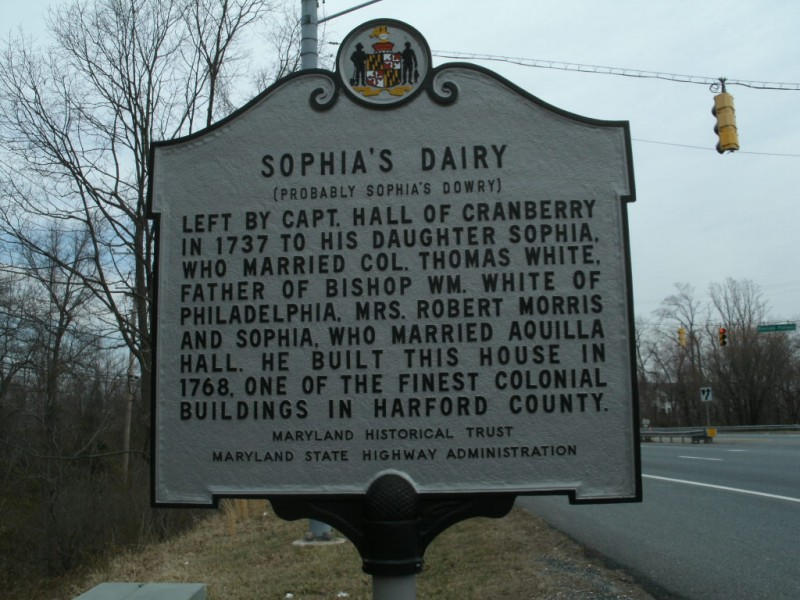 SIGN: Sophia\'s Dairy | Aberdeen, MD Patch