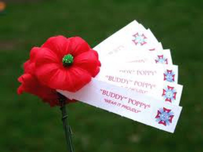 American legion auxiliary distributing buddy poppies friday mightylinksfo