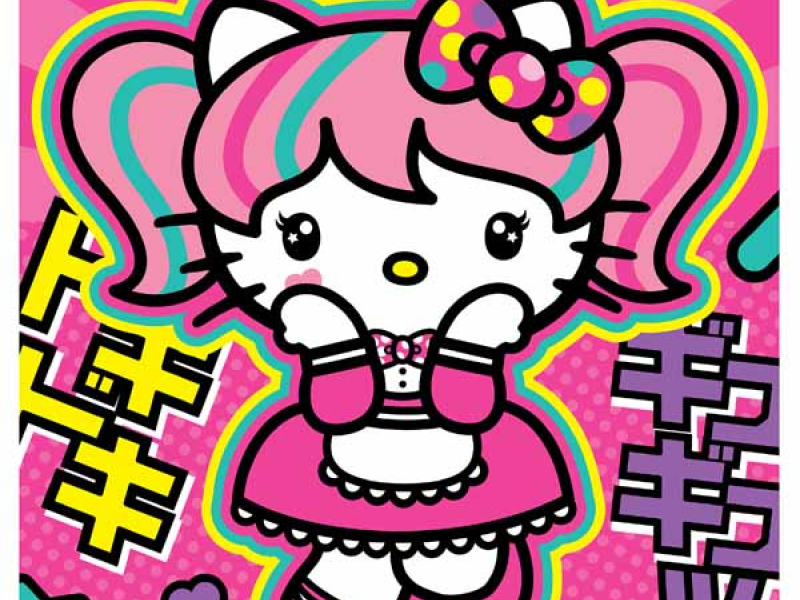 298f7dfb5 Hello Kitty Fashion Music Wonderland interactive experience and pop-up shop  at Comic-Con Interactive Zone at Petco Park