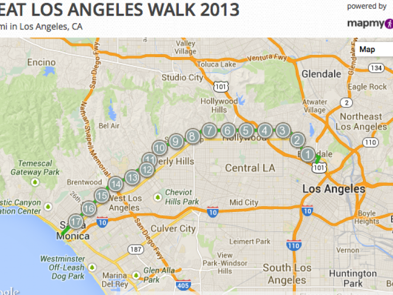 Great Los Angeles Walk Gets Moving From Echo Park Saturday