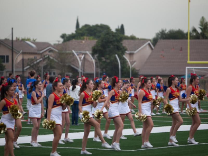 Los Al High School To Host Nighttime Pep Rally Thursday