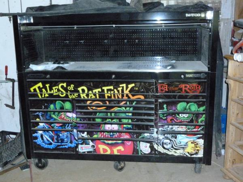 What's for Sale: Rat Fink Tool Box; 2003 Scion HB ...