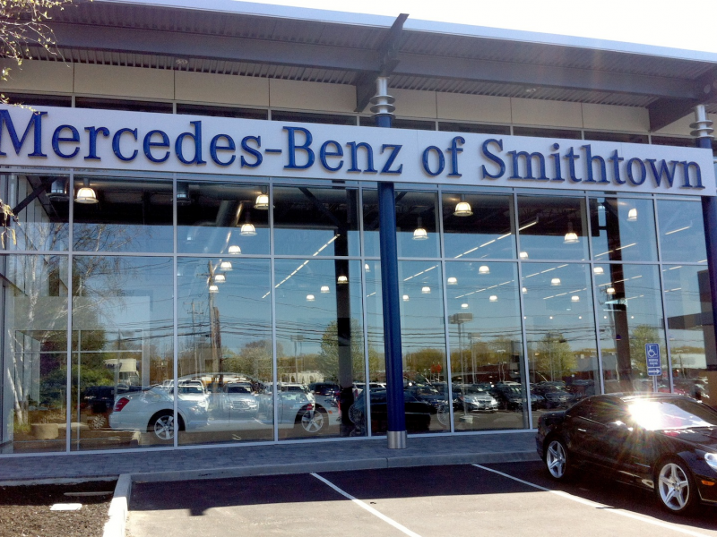 New Lines New Dealership For Mercedes Benz In Smithtown Smithtown