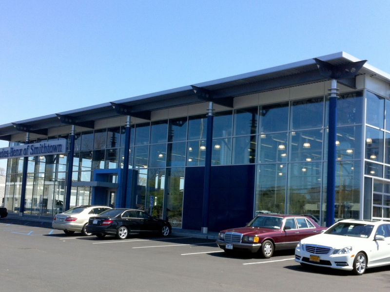 New Lines New Dealership For Mercedes Benz In Smithtown Miller