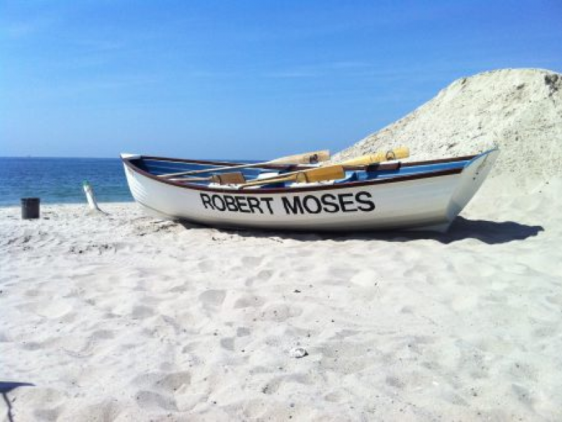 Far And Wide Robert Moses Is A Favorite Of West Islip Beach Goers