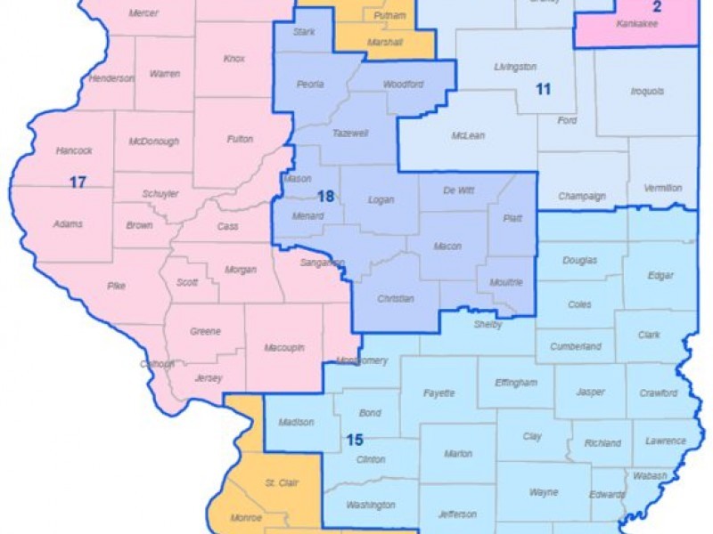 Illinois Republicans Draw Their Own Damn Map Tinley Park IL Patch - Us federal courts map