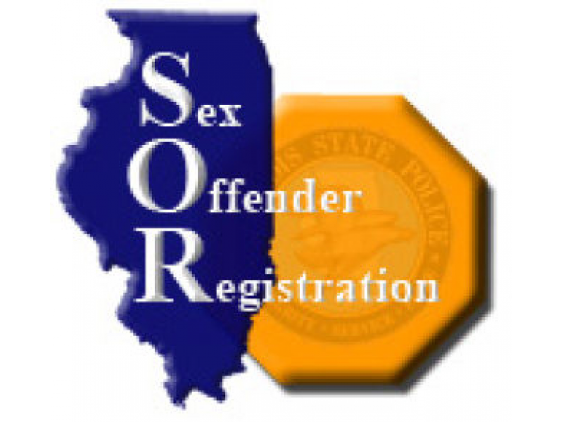 Sex offender registry and illinois