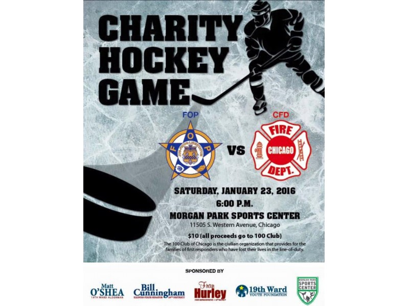 CFD Charity Hockey Game Benefits The 100 Club