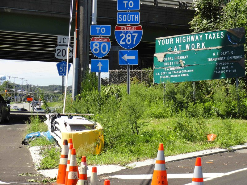 Rt 80 Lane Shift Ahead Of Schedule Project To Be Completed By End