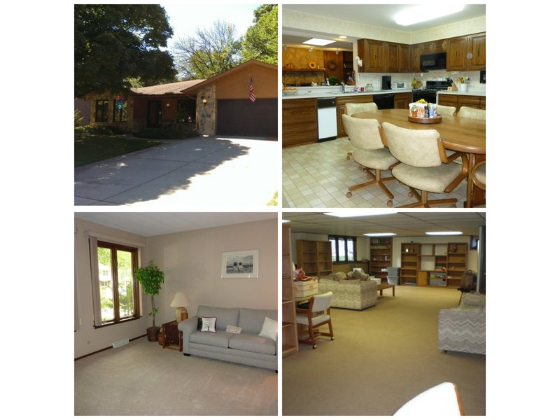 Spacious 4 Bedroom, 3 Bath Glen Ellyn Ranch With Full Finished Basement For  Sale