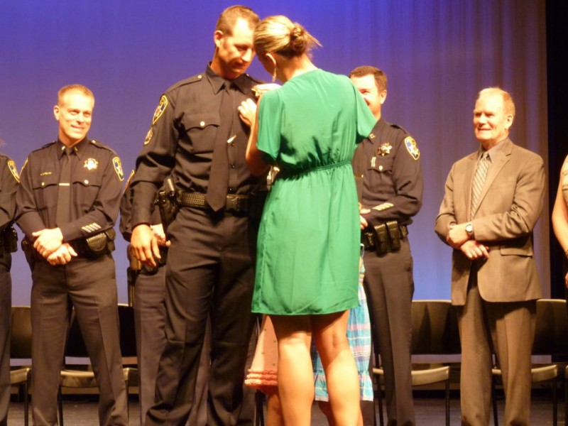 Roseville PD Welcomes 8 New Police Officers, Celebrates 3 Promotions ...