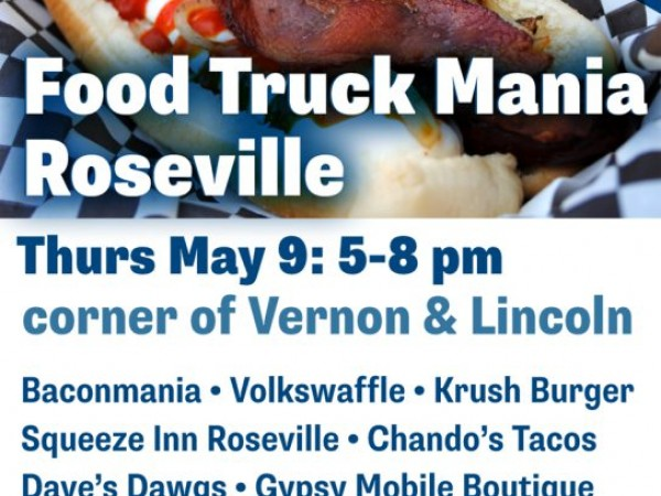 Food Truck Mania Lineup May 9 in Downtown Roseville - Roseville ...