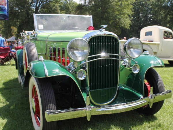 Concours Car Profile 1932 Oldsmobile F32 Convertible  Plymouth