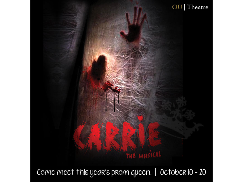 OU Brings Chills With 'Carrie the Musical,' Opening Thursday