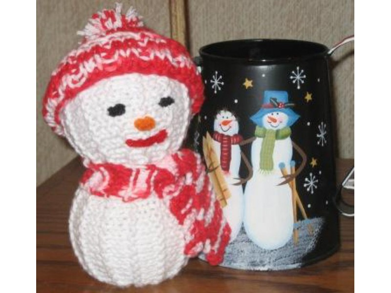 Knit Snowman Decorations for your Holiday Home | River Dell, NJ Patch