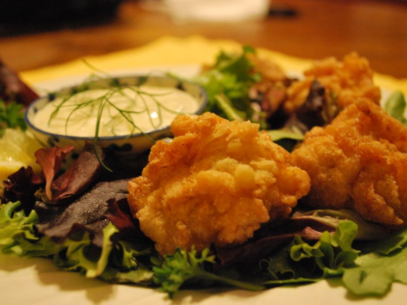 Gluten Free Deep Fried Sea Scallops With Dill Lemon Tartar ...