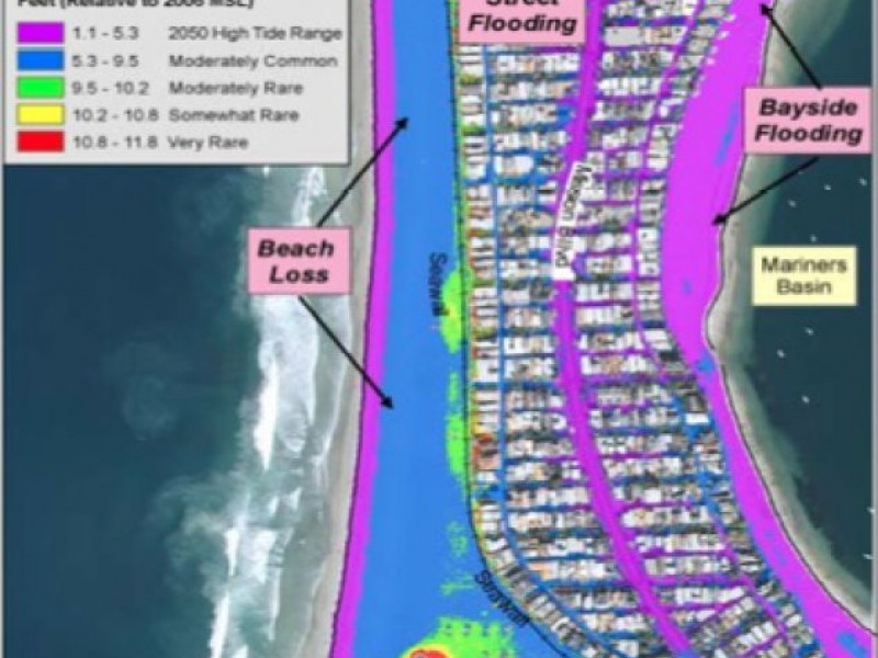 Maps of San Diego Coast Show Sea Level Rise by 2050 Coronado CA Patch