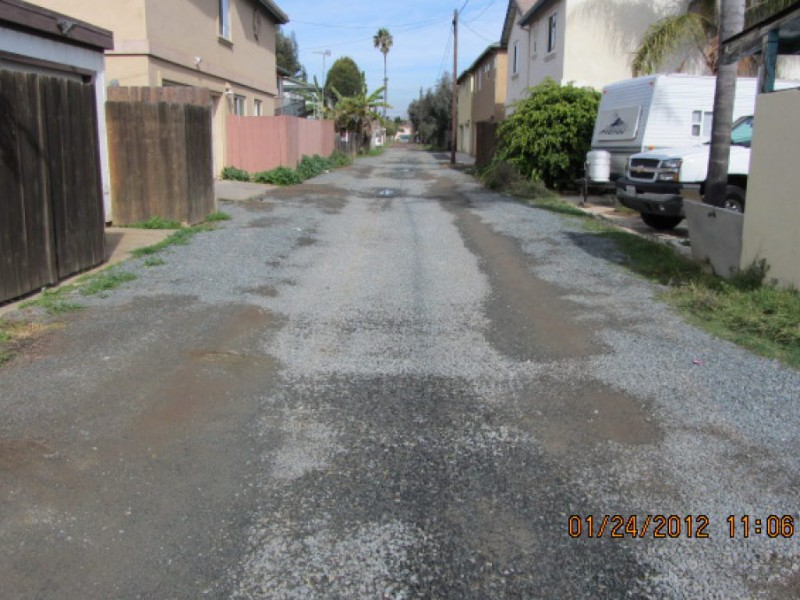 Fined For Fixing A Problem: Council Considers Gravel Alleys | Imperial  Beach, CA Patch