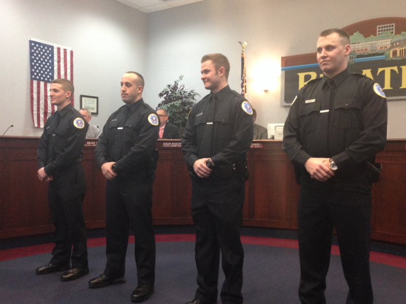 palatine police and fire departments announce new hires