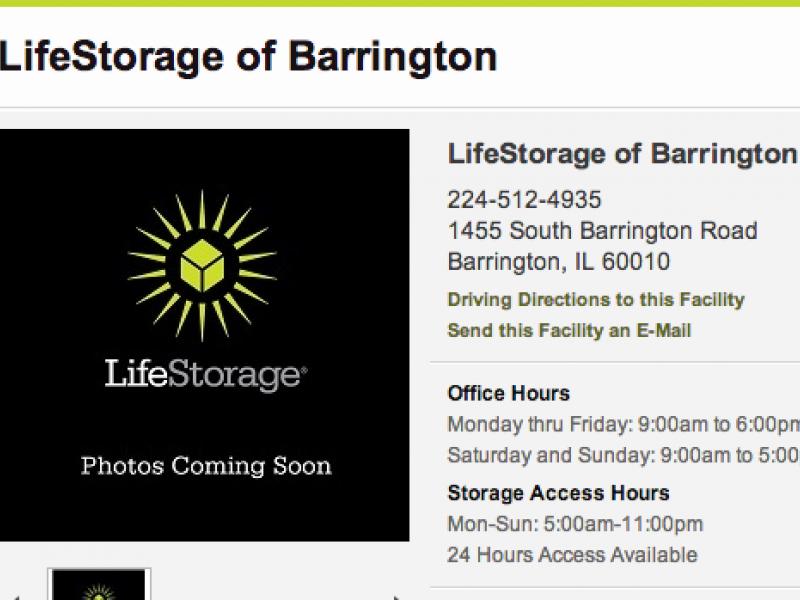 Attrayant LifeStorage Now Open In Barrington