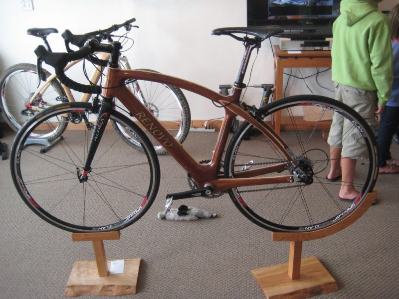 patch road tests renovo hardwood bicycles san anselmo ca patch. Black Bedroom Furniture Sets. Home Design Ideas