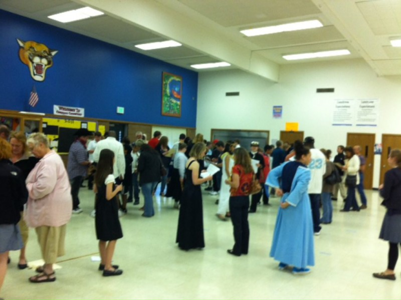 college place middle school night of the notables