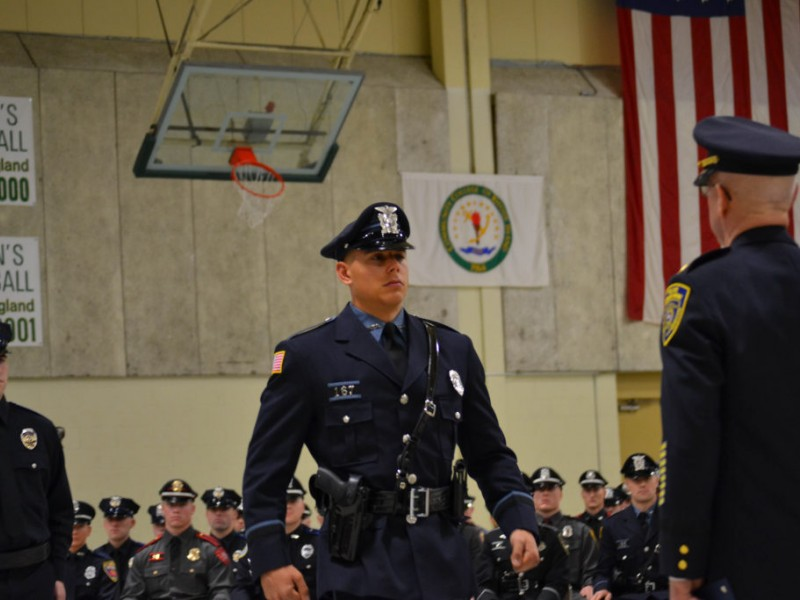 Three new recruits join east greenwich police east - Restaurants in garden city cranston ri ...