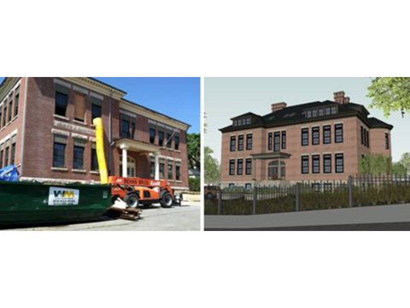 Former Carey School to be Turned into Luxury Condos
