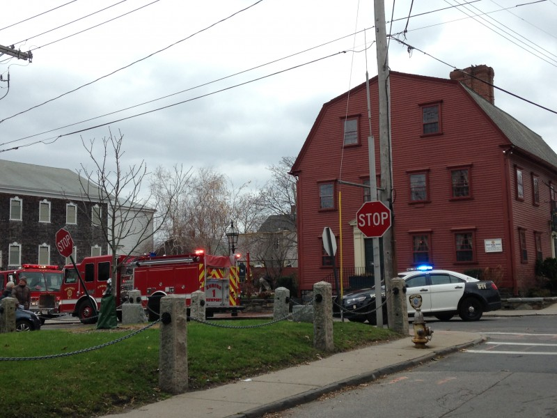 Chimney Fire Causes Minor Damage At White Horse Tavern