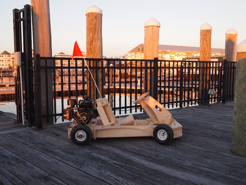 Newport company creates wooden go kart you can build in - Restaurants in garden city cranston ri ...