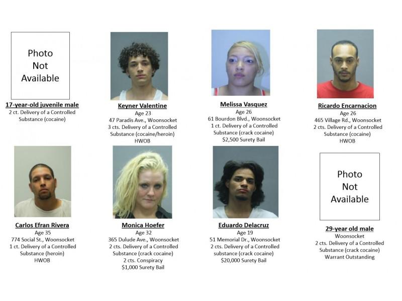 Providence Rhode Island Drug Bust