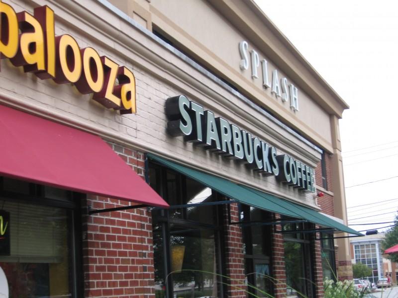 Details on Renovations at Needham Street Starbucks, McDonald\'s ...