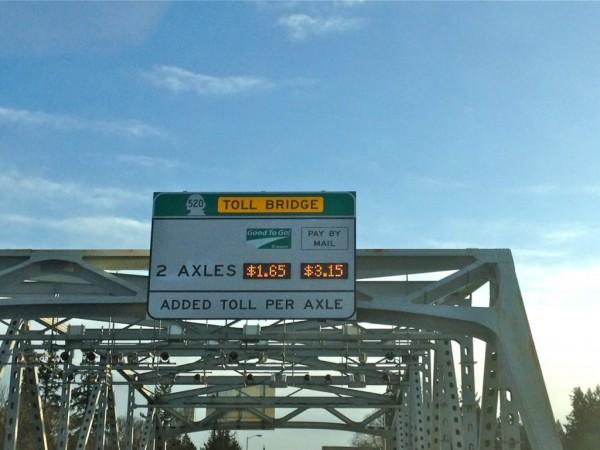 how to avoid 520 bridge toll