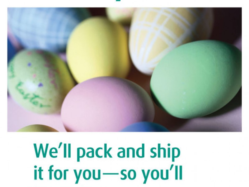 The ups store offers tips on sending easter gifts sarasota fl patch the ups store offers tips on sending easter gifts negle Gallery