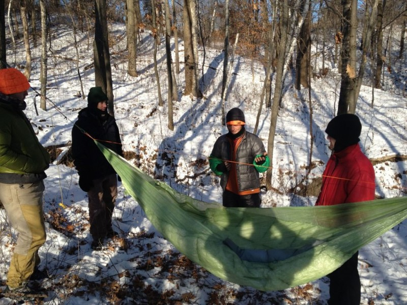 Hammock Camping In The Piney Woods With Roseville S