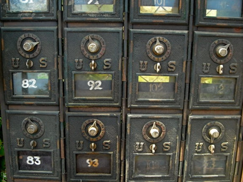 Antique Of The Week: Post Office Boxes