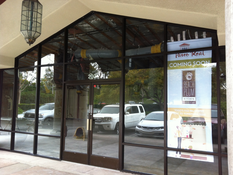Togo\'s Relocated, Beach Plum Kitchen Coming Soon to Carlsbad ...