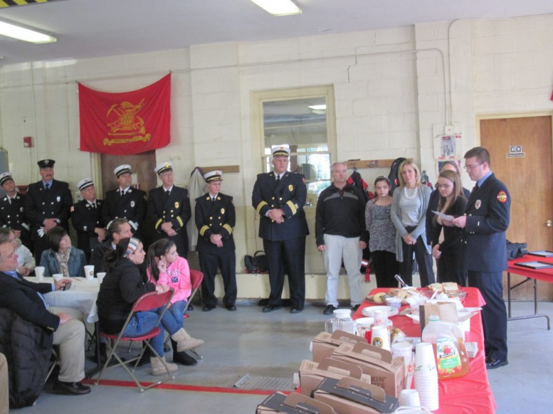 Fire Department Honors Local Heroes Chelmsford Ma Patch