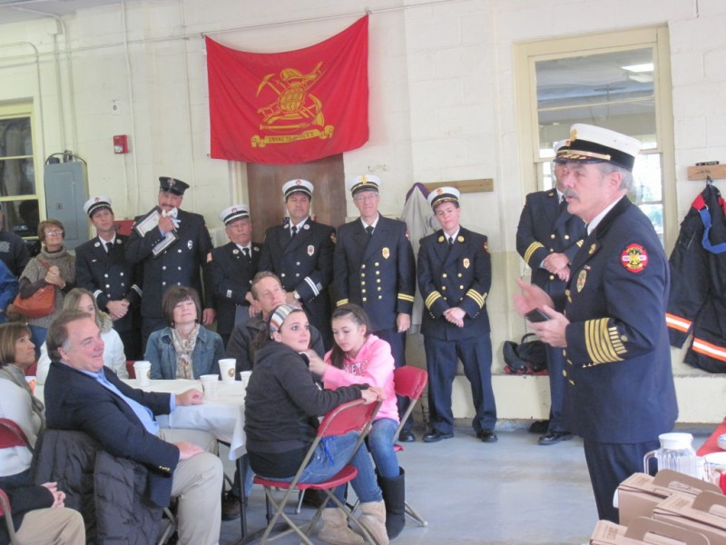 fire department honors local heroes